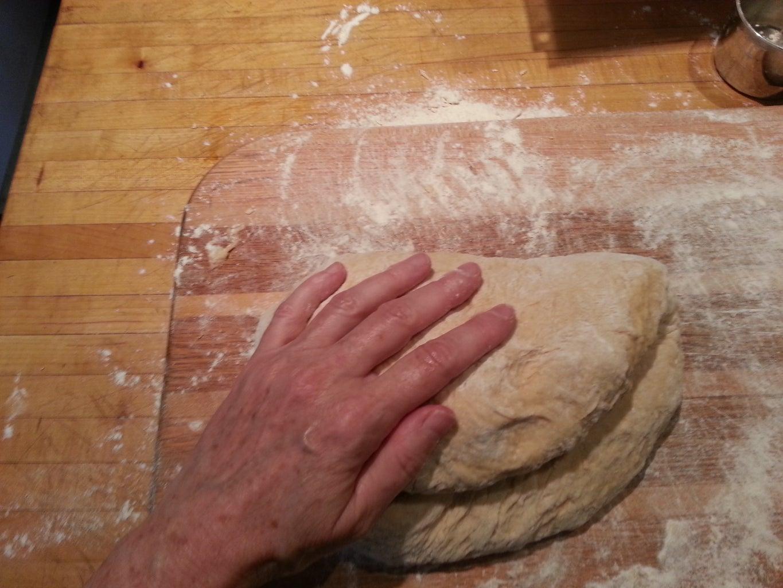 Make the Challah Dough