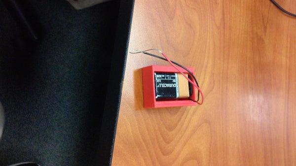3D Printed Battery Holder