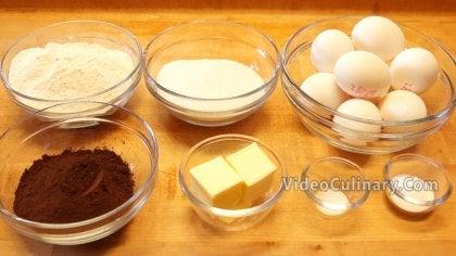 Easy Chocolate Sponge