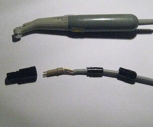 Repair Male Plug of Dental Handpiece Using Sugru