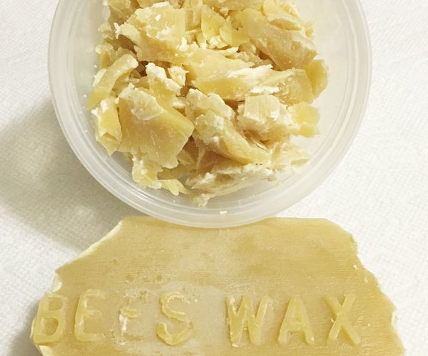 How to Cut Beeswax Blocks