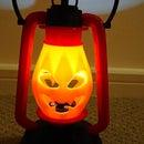Pumpkin Kerosene Lamp 3D Printed