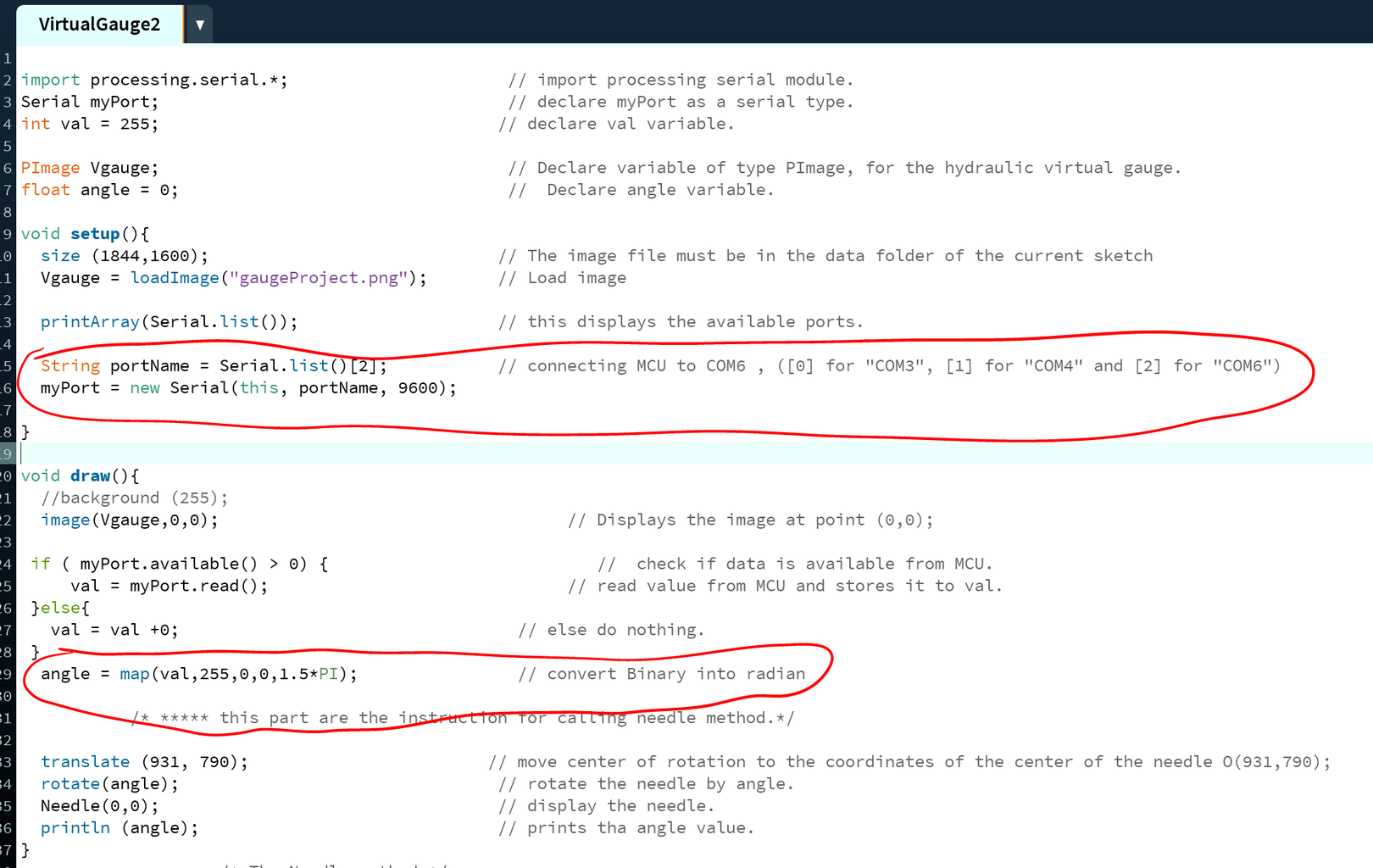 Step 3: Writing the Virtual Gauge Software.