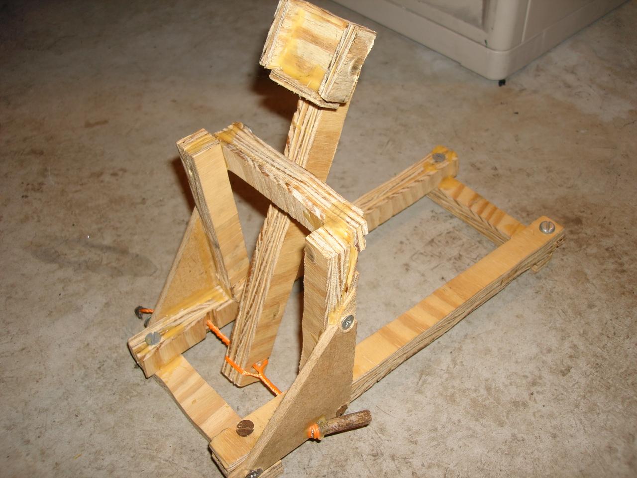 Homemade Catapult