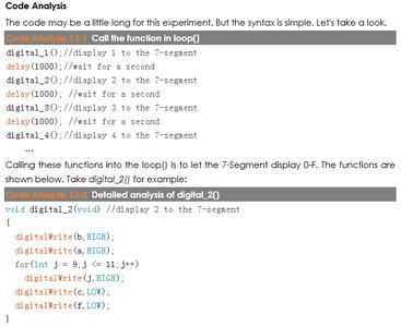 Code Analysis
