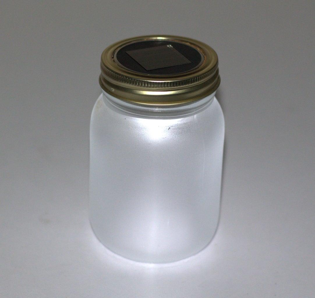 DIY Solar Powered  Mason Jar