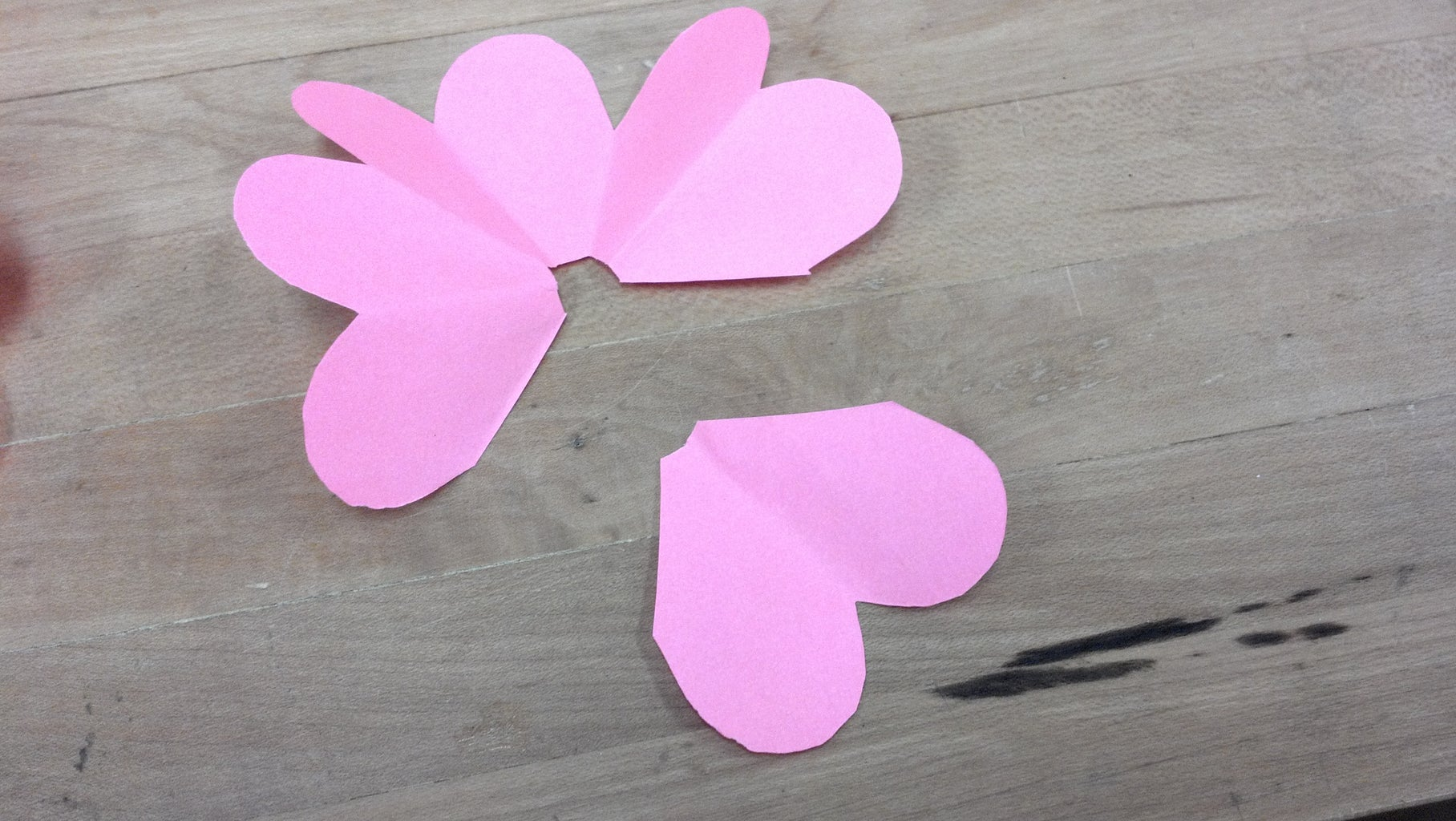 Cutting Out the Petals and Preparing to Create Flowers and Petals