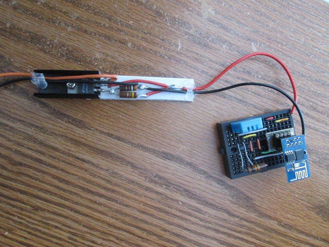LM317 Simple 3.3 Volt Power Supply