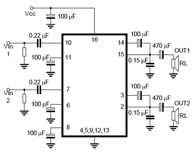 Making the Amplifier Circuit