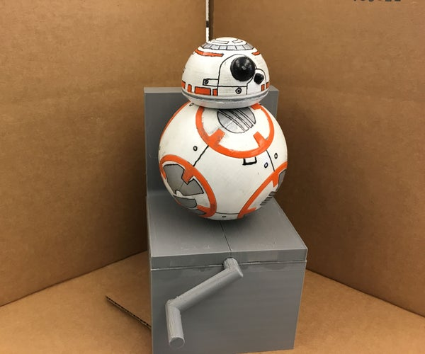 Fully 3D Printed BB-8