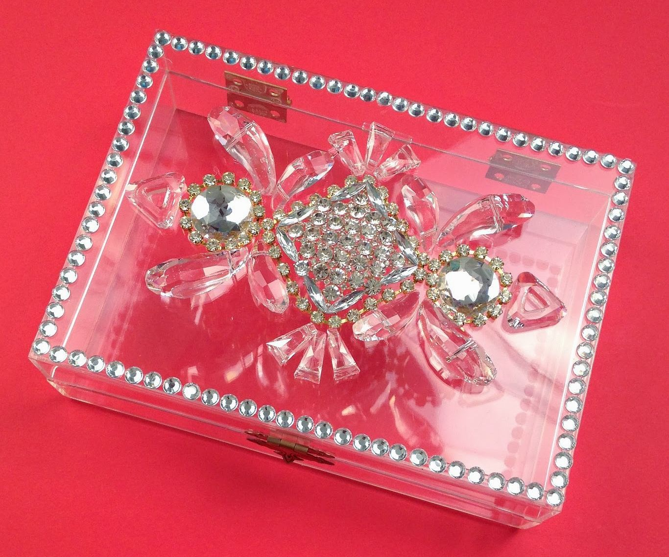 Crystal Box Clutch