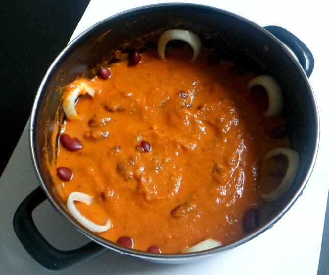 Restaurant style rajma (kidneybeans)masala