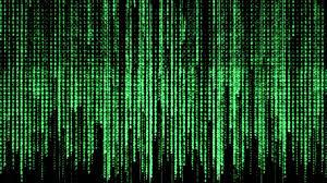 Matrix in Notepad