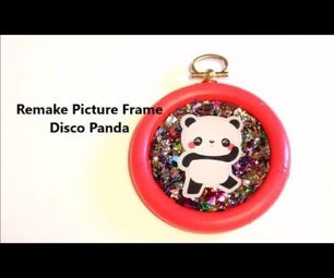 ReMake Picture Frame #3 (Disco Panda)