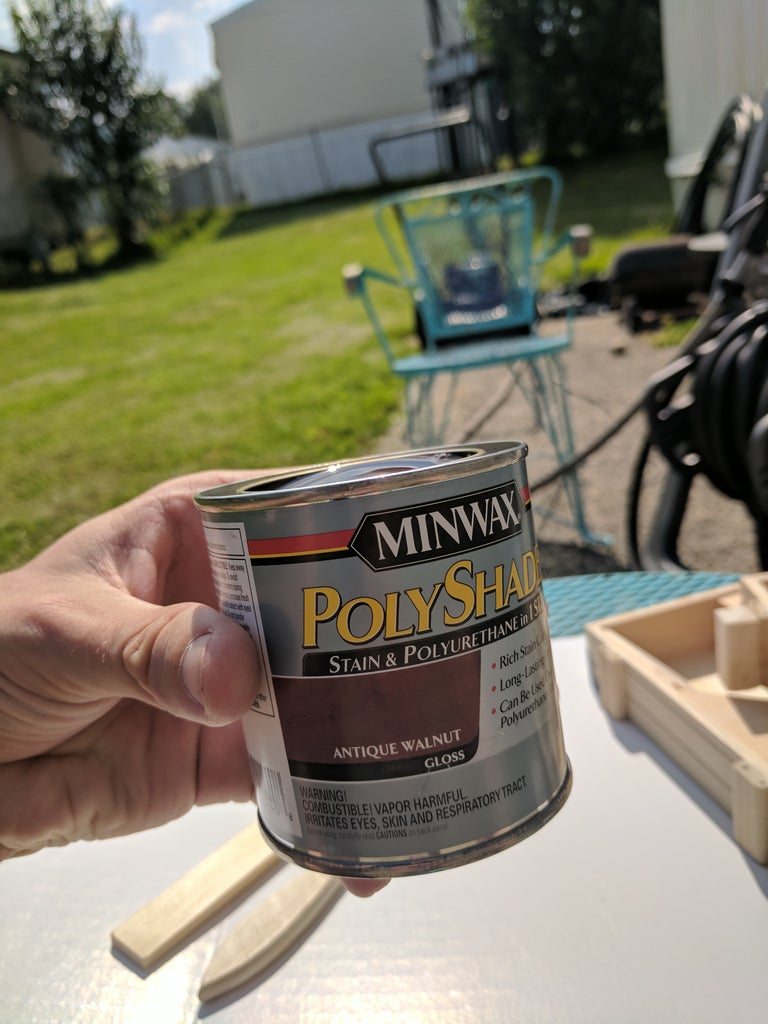 Staining or Painting