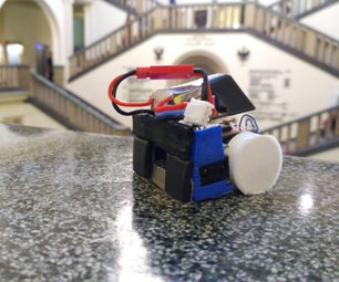 MicroSumo (100g) Competition Robot