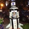 ROCKET MAN:  Saturn 5 Rocket Halloween Costume