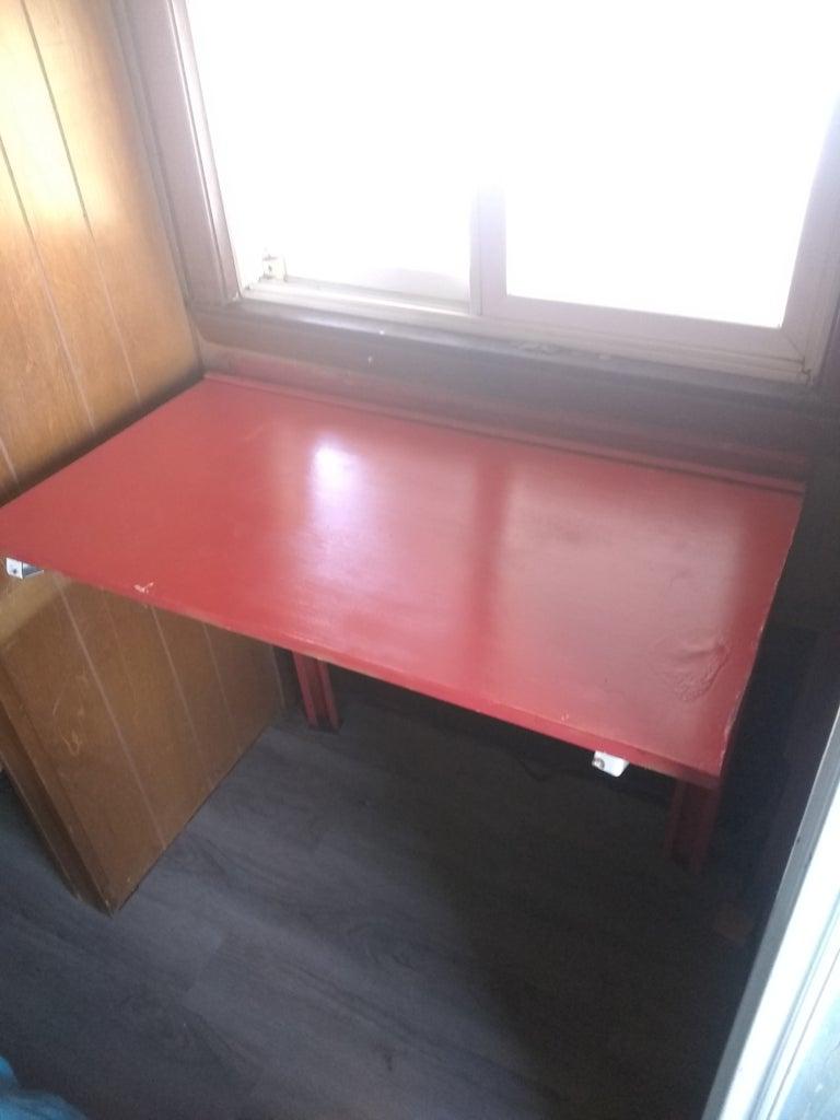 Folding Wall Desk
