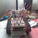 Arduino based light follower robot