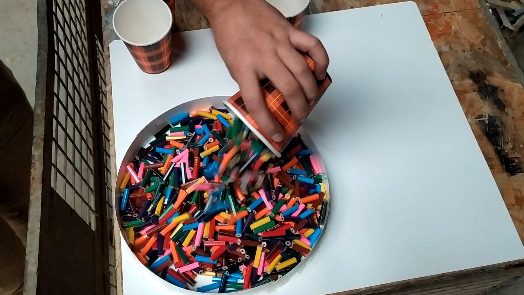 Cutting Crayons