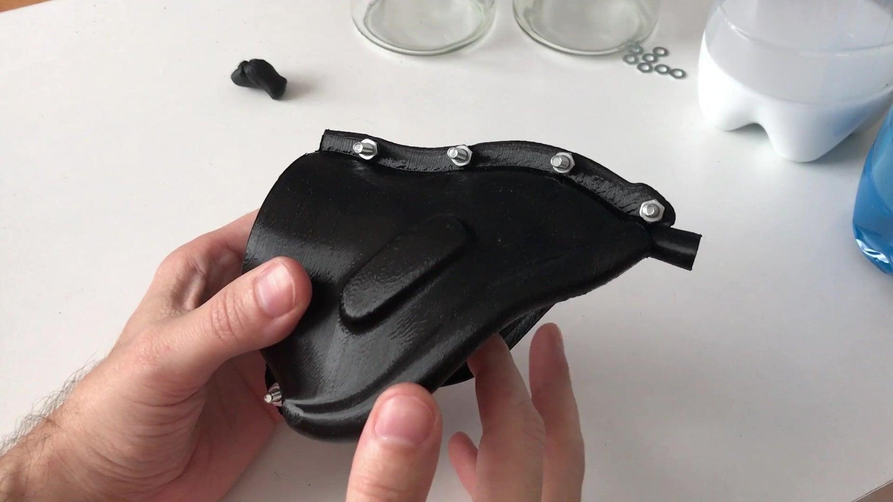 Preparing the 3D Printed Mold