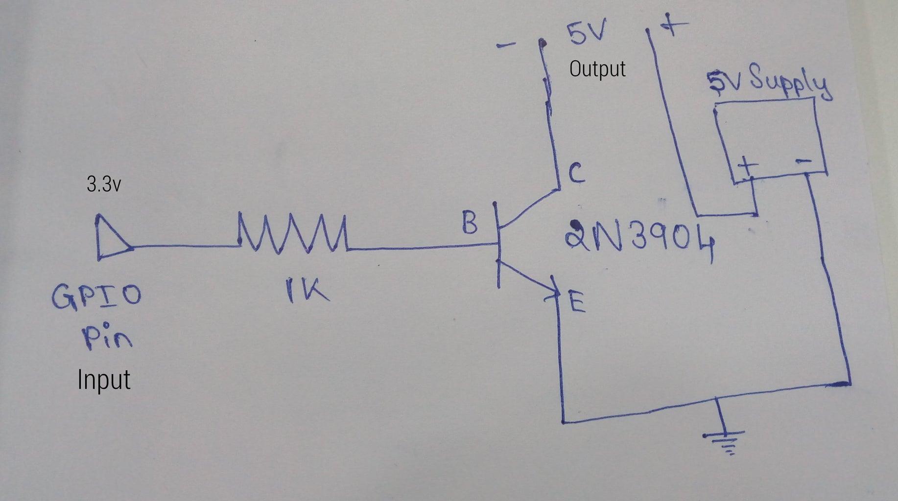 3.3v to 5v Converter