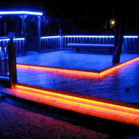 Color Changing Deck Lights