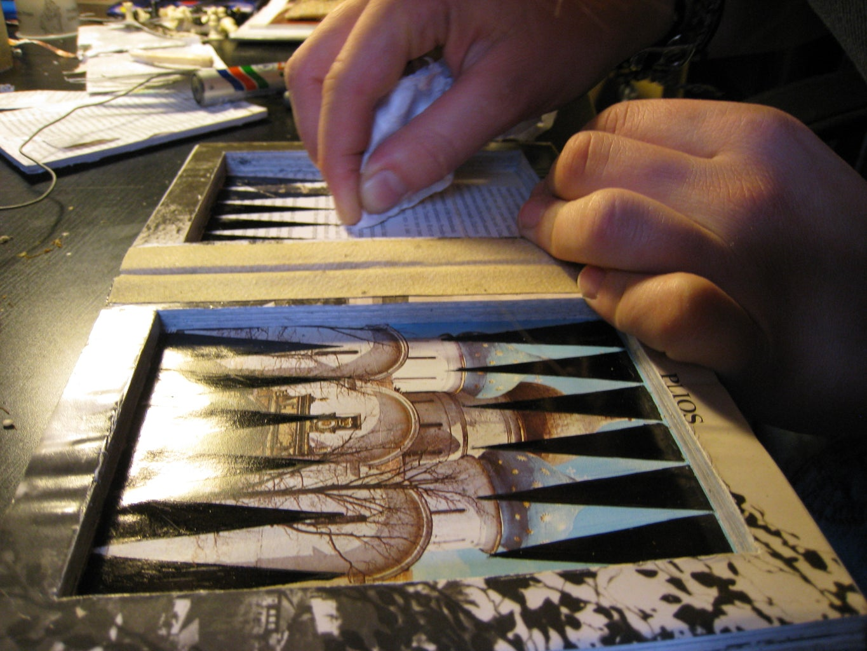 Draw the Backgammon Table