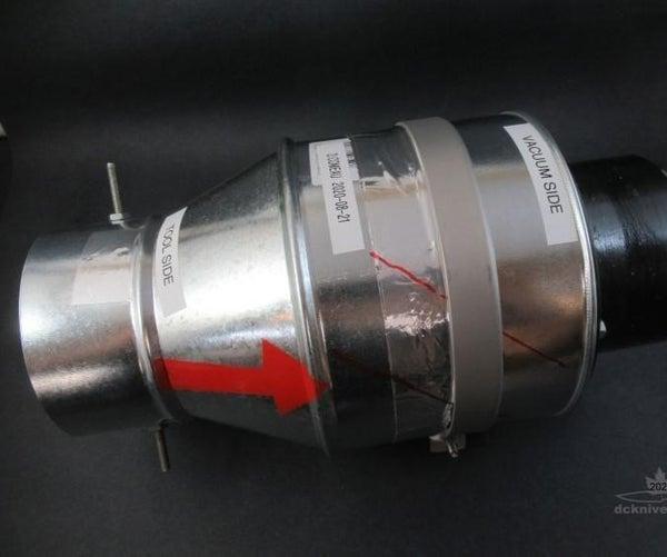 "SA-4 Spark Arrester for 4"" Vacuum System"
