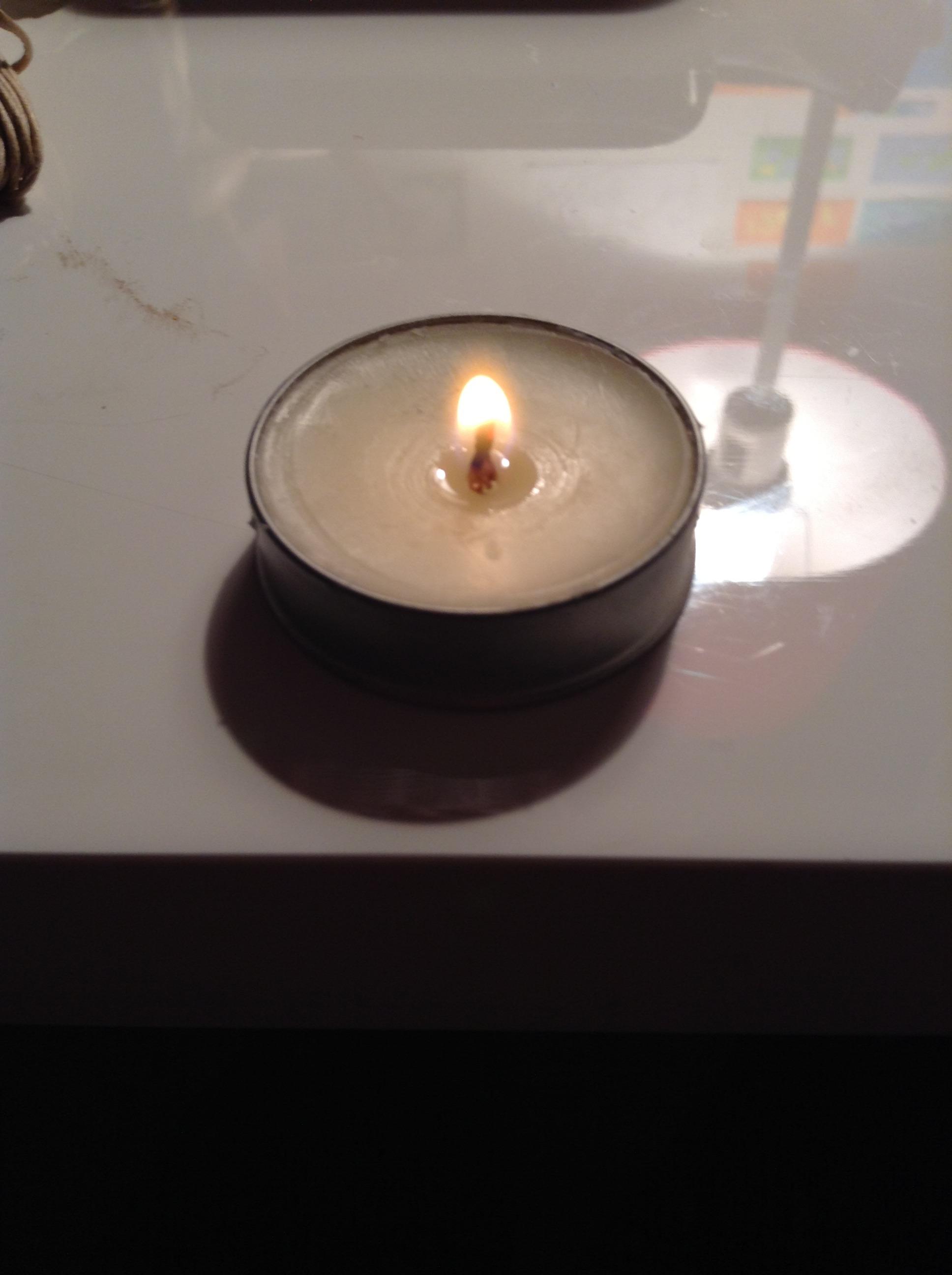 Emergency Lip Balm Candle
