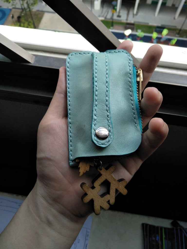 Key Card Cash Travel Easy Leather Wallet Pouch (highly Detailed)