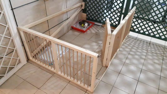 Dog Wooden Fence