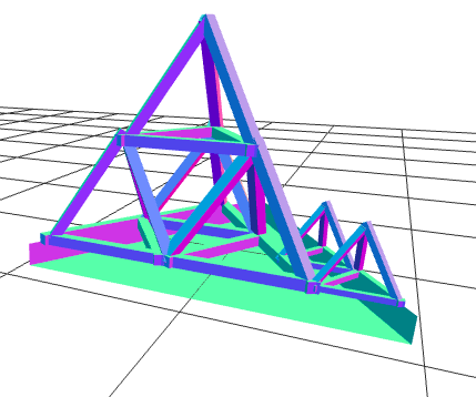 Apply One Half Scaling To Wood Tetrahedron