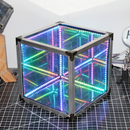 Make an EASY Infinity Mirror Cube | NO 3D Printing and NO Programming