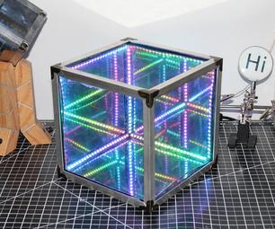 制作一个轻松的无限镜子立方体|没有3D打印,没有编程