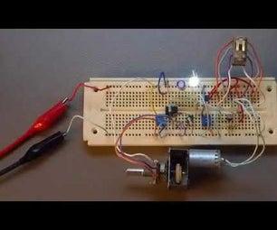 Discrete Mechanical LED Fader