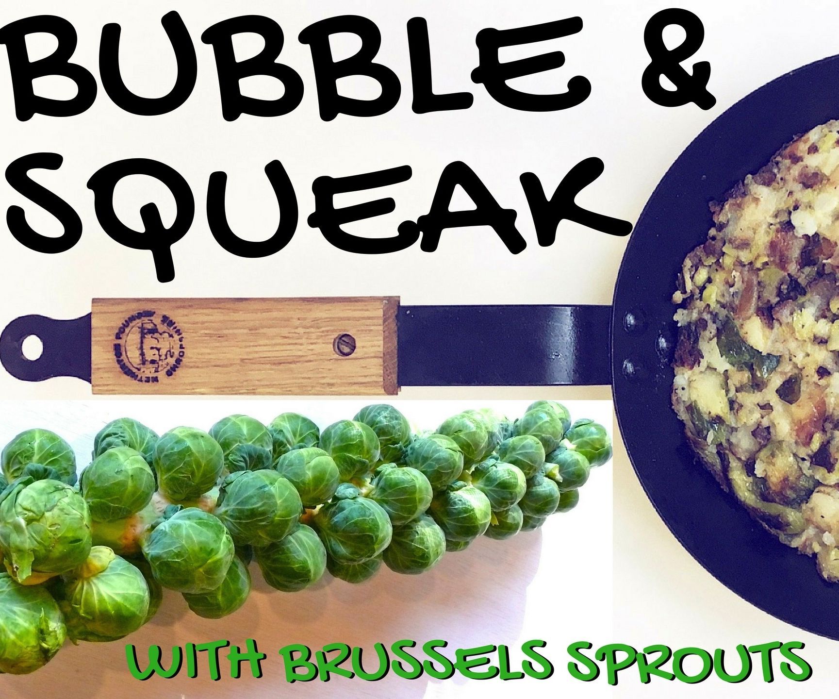Bubble & Squeak using Brussels Sprouts!