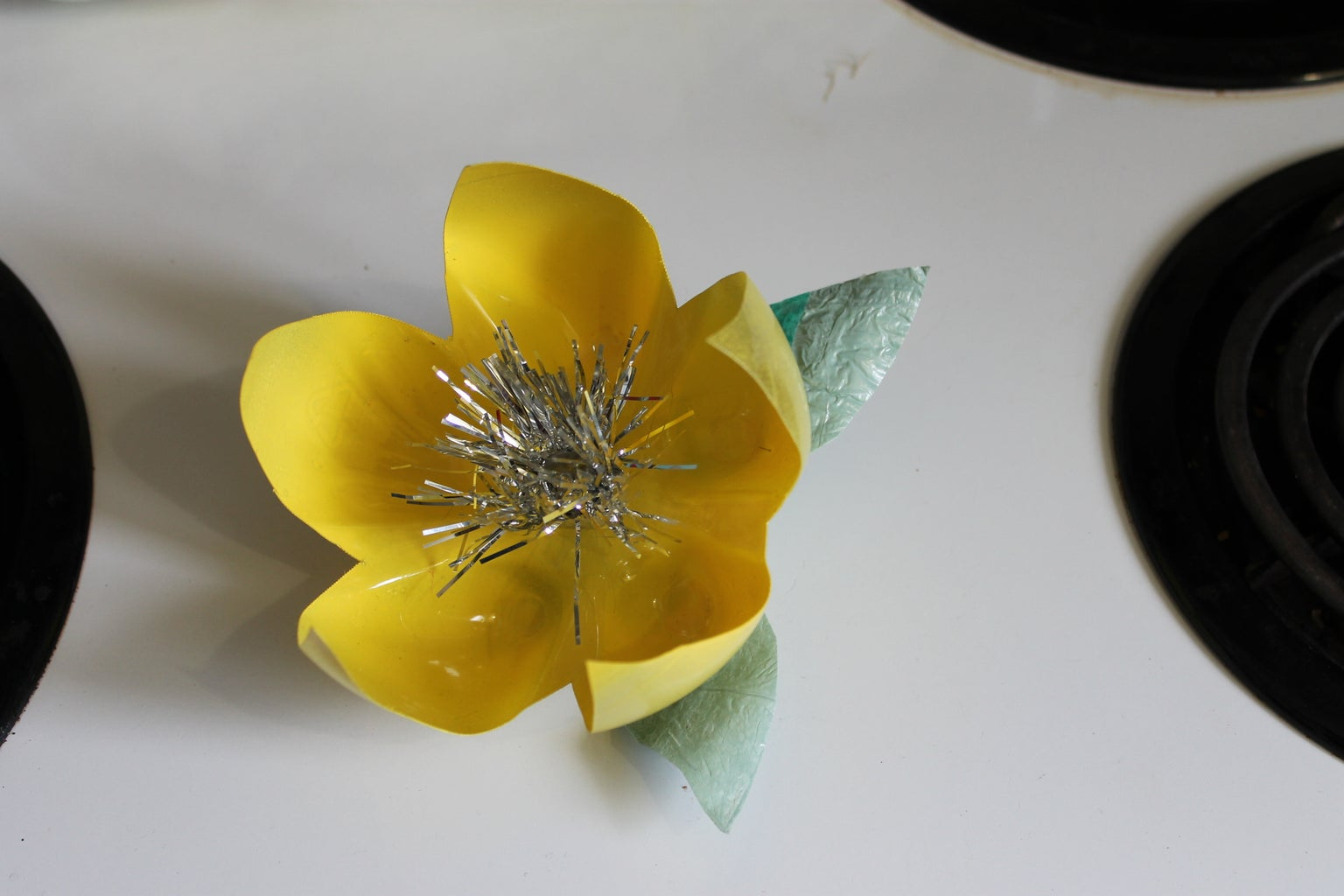 Upcycled Pop Bottle Corsage