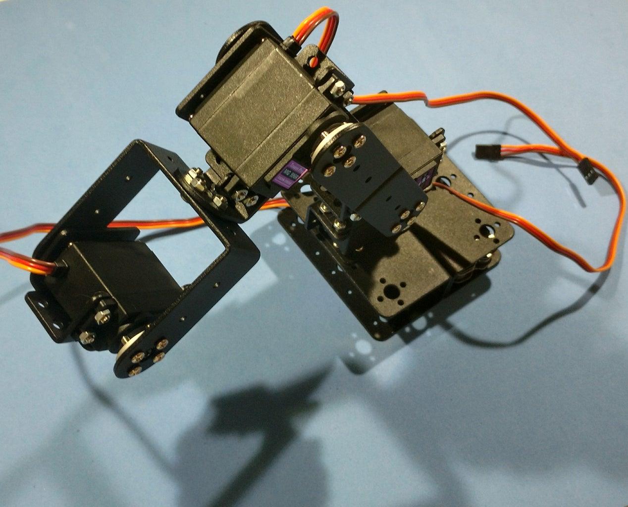 Assembling the Robotic Arm Pt5 - Servo #4