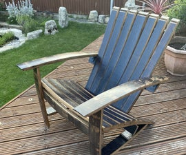 Whisky Barrel Chair