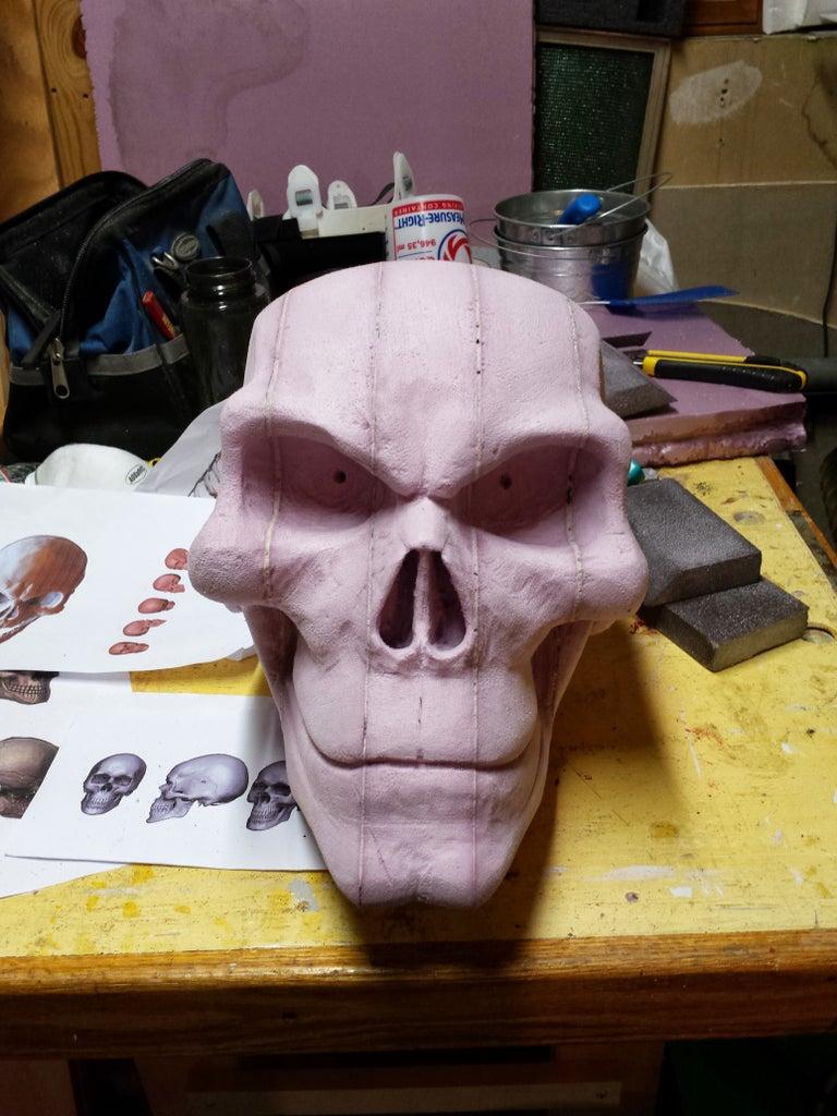 Sculpting the Skull
