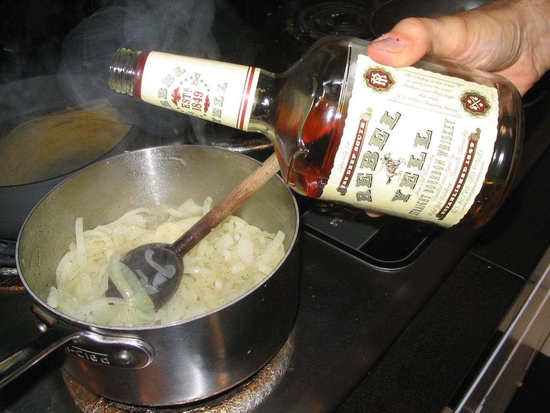 Deglaze With Whiskey