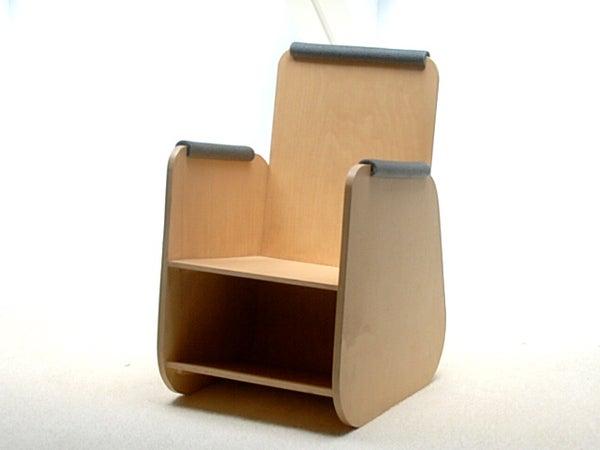Plywood Children's Chair.