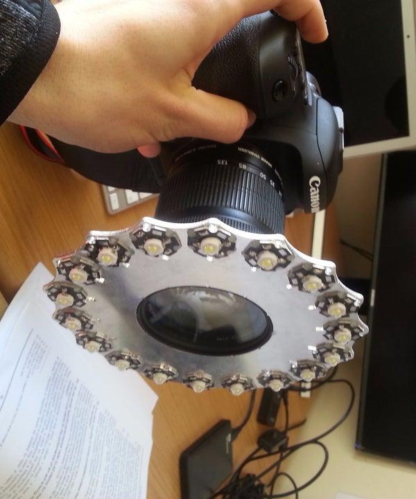DIY Camera Ringlight