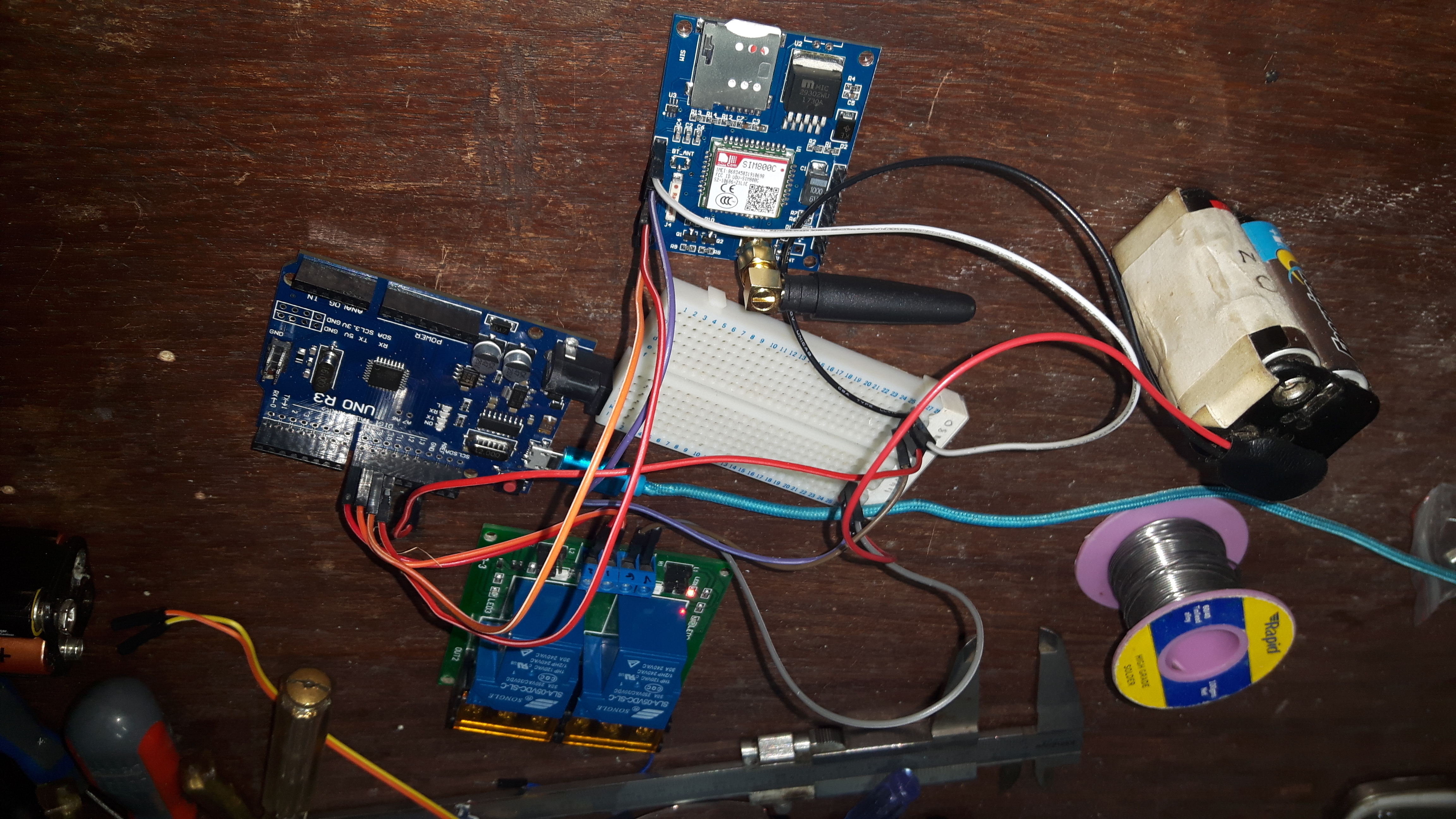 DTMF and GSM Based Home Automation