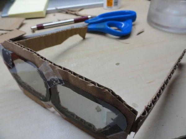 3-D Cardboard Glasses Frames