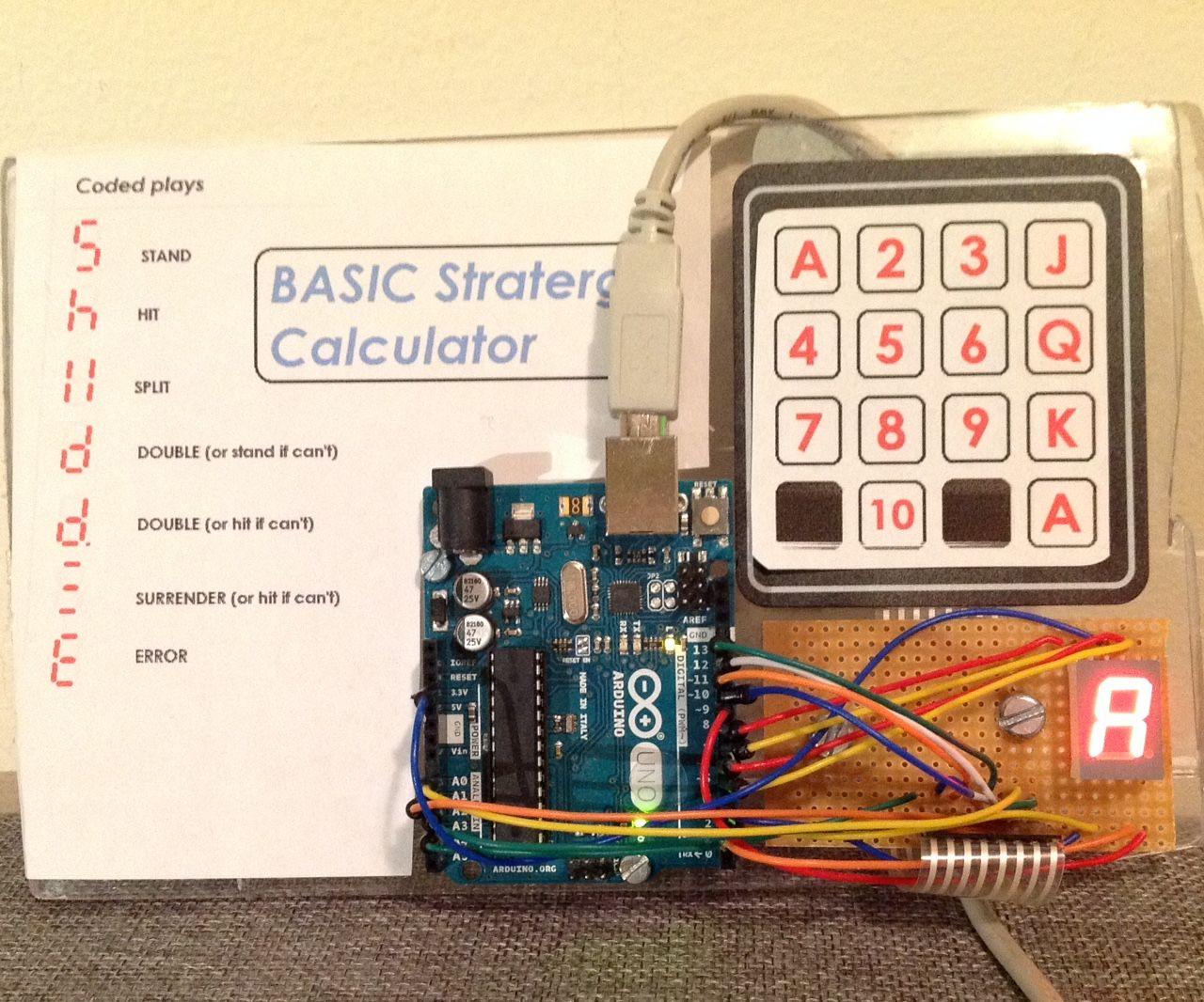 Blackjack Basic Strategy Calculator