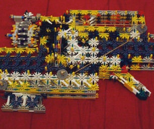 Z3 Knex Gun Firing Demonstration