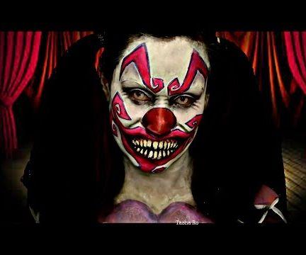 Creepy Clown Make-up