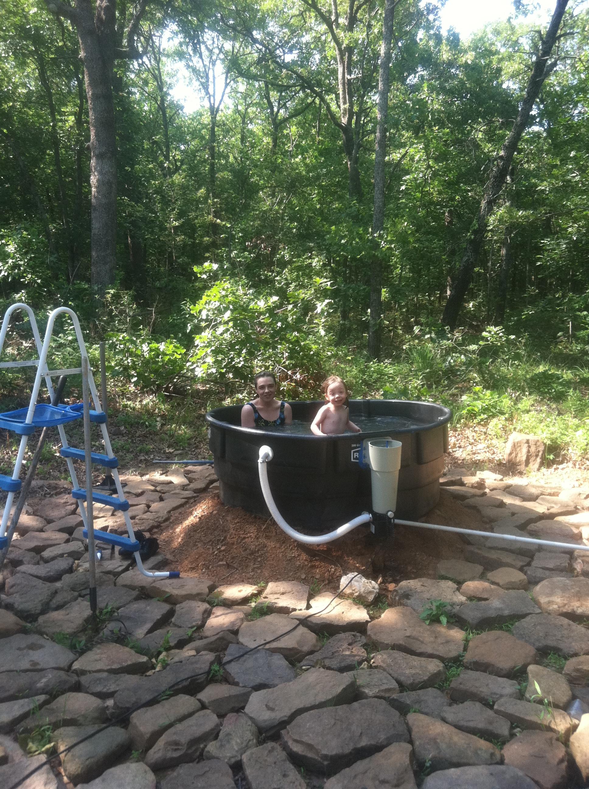 redneck outdoor tub